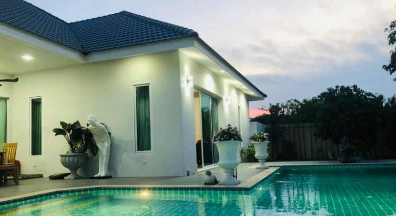 Pool villa for sale huay yai pattaya