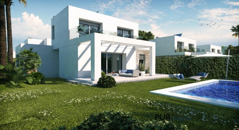Right Wow! Sa Rapita. New build villas in a new facility. Strike. Real quick.