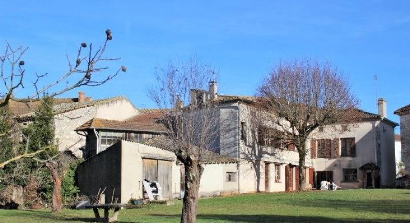 In a village between Moissac and Agen