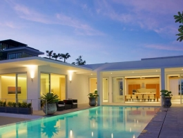 And again Phuket quality real estate can present you with a butifull sea view villa
