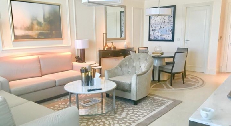 Furnished 1 bedroom apartment in Address Blvd