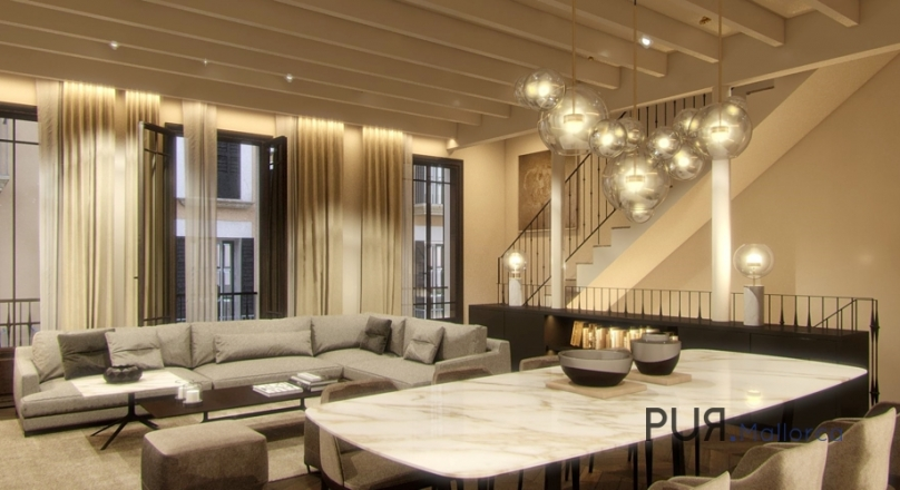 Luxury in Palma. Newly defined. Old town villa with roof terrace and pool.