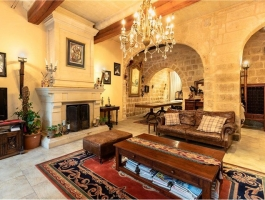 An imposing grand double fronted townhouse situated