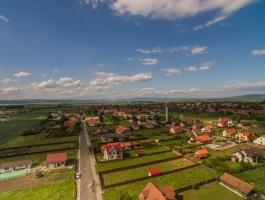 FILMING drone !!! Field Farm, Hala Residential construction on land 20.000mp, Prejmer, Brasov