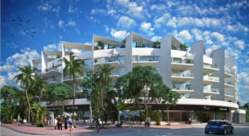 Departamento en Venta en Condominio Miranda, Playa del Carmen Centro