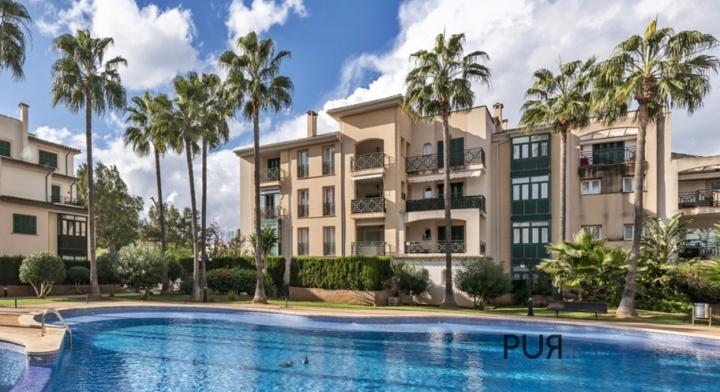 Santa Ponsa. Top price / performance. Apartment in very good condition. Close to the golf course.