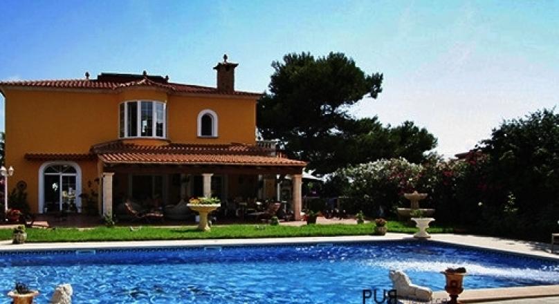 Cala Pi. Sea view. Villa mallorquin. Luxury. Sea does not work.