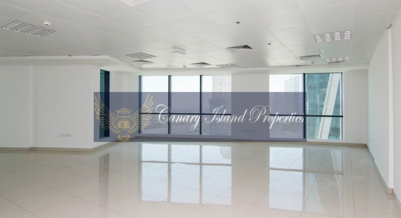 Fully Fitted Office SZR View Available For Rent in Business Bay