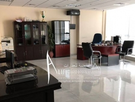 Fitted office for rent in Julphar Tower