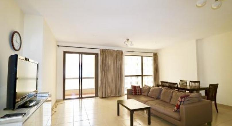 Comfortable 1-BR Apartment for Rent in Murjan at JBR Dubai