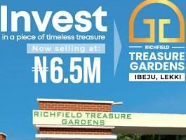 Richfield Treasure Gardens, ibeju-lekki.