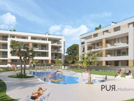 Porto Colom. New construction project at the start. Secure the best units early.