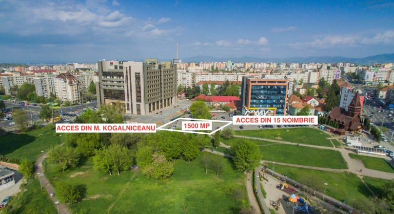 See Movie! 1,500 sqm land, opposite the future AFI PALACE Mall, Brasov