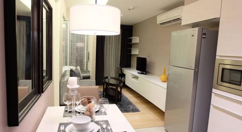 FOR RENT H43 CONDOMINIUM AT PHROMPHONG Type 1 bedroom 1 bathroom