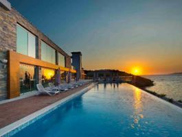 Townhause on beach sea in Turkey