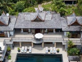 Villa is located in Surin, Phuket