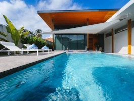Modern villas with marble pool & Jacuzzi in Rawai