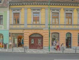 George baritiu Street, Historic Center, Brasov