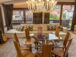 Elite Villa, positioning landscaping, Medieval Fortress of Brasov