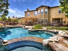 Beautiful Pool Home in Gated Estancia with Views!